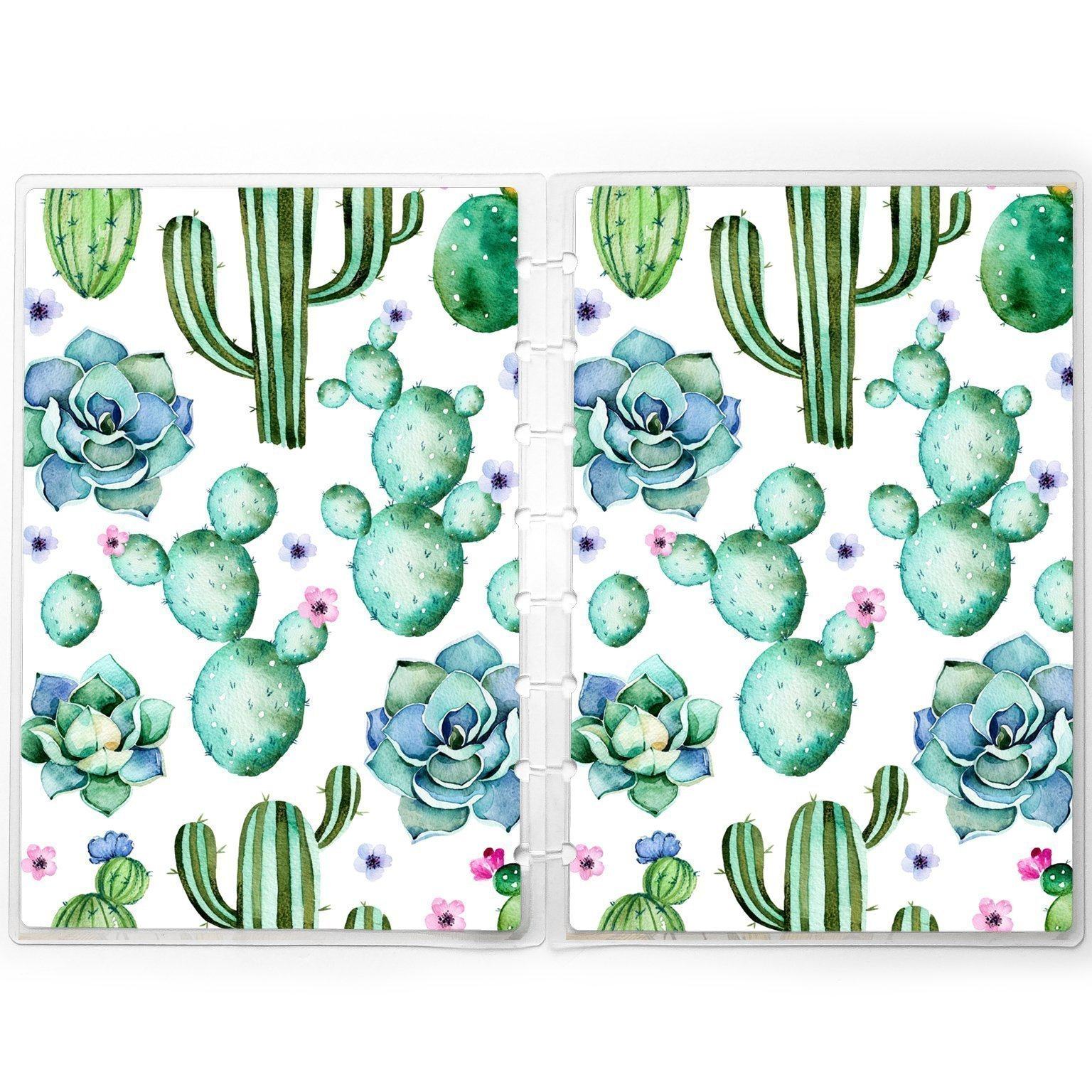 Succulent Planner Cover for Disc-bound Happy Planner Staples Arc TUL