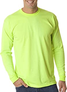 product image for Bayside 1715 USA-Made 50/50 Long Sleeve T-Shirt