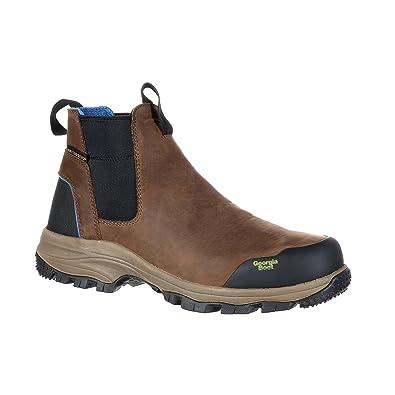 "Men's 5"" Blue Collar Chelsea Waterproof Work Romeo Boot-GB00106"