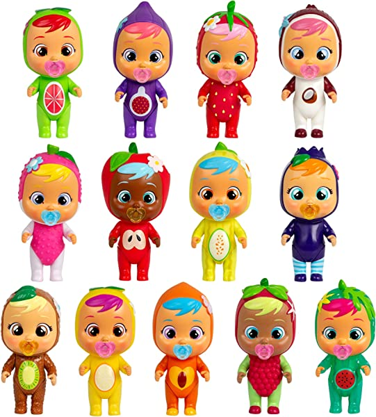 Cry Babies Magic Tears – Tutti Frutti House Series collectible surprise toy for kids