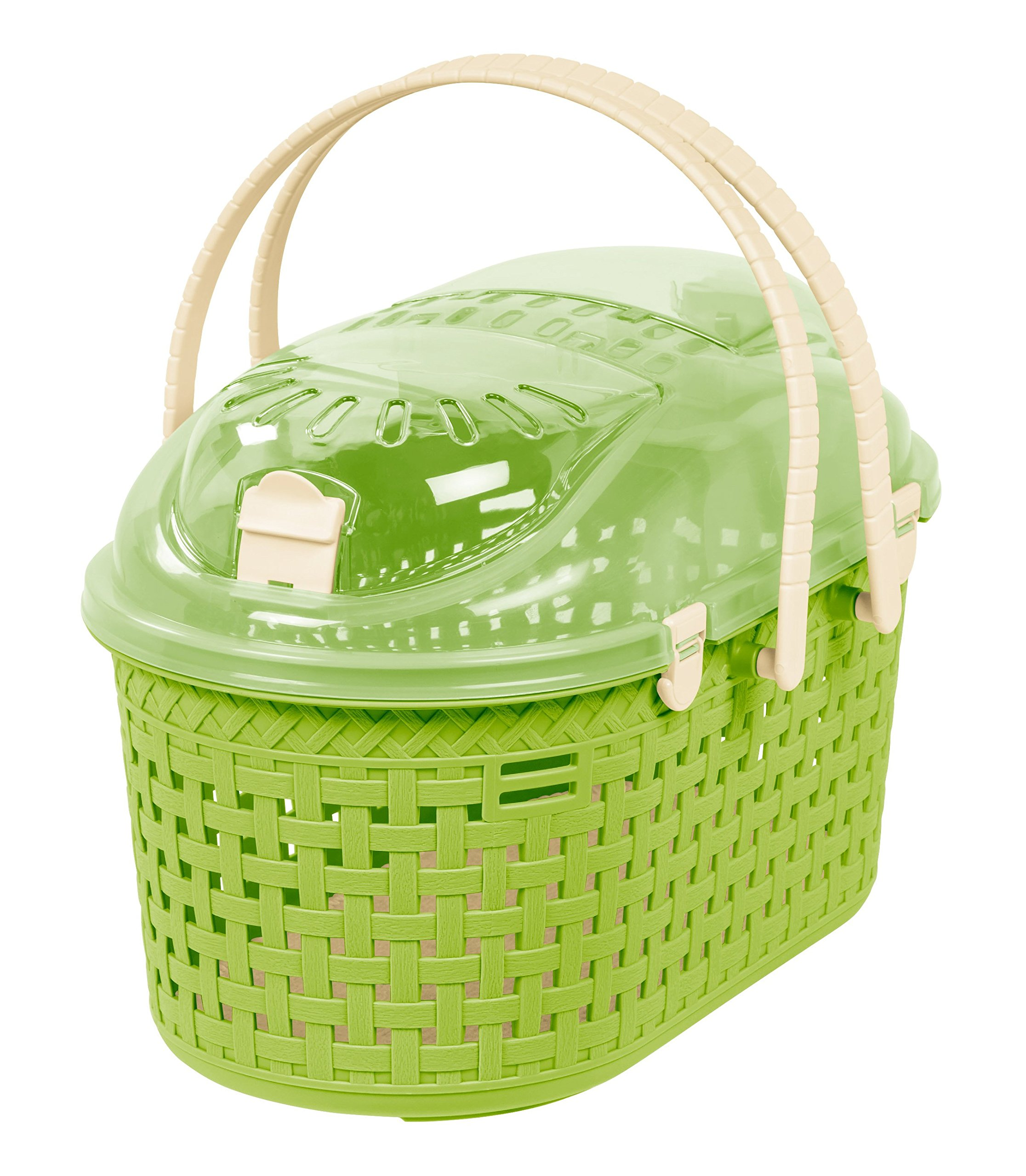 IRIS Animal Carrier, Green