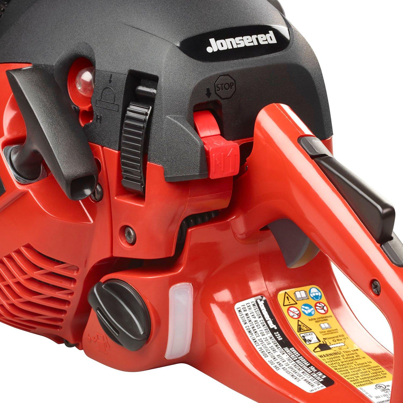 Amazon.com: Jonsered 40 cc 2 Ciclos de gas 16 en. Motosierra ...
