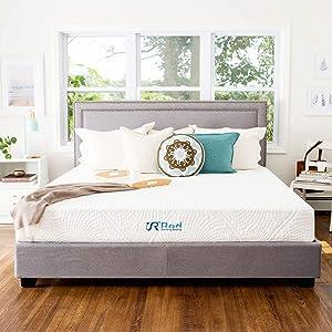 Sunrising Bedding 12 Inch Cool Gel Memory Foam Twin Mattress, Firm, Bed in a Box, CertiPUR-US Certified Foam, No Harmful Chemicals, 120 Night Trial, 20 Year Warranty