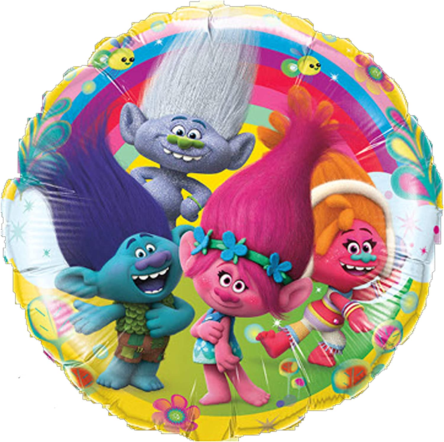 Trolls Poppy Party Supplies Balloon Bouquet Decorations