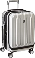 Delsey Luggage Helium Titanium International Carry-on Exp Spinner Trolley