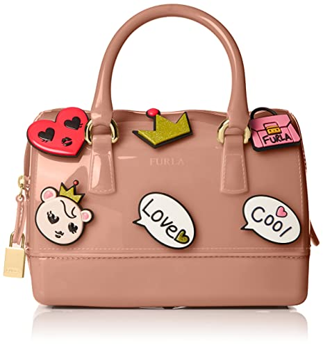 Furla Candy Cookie Mini Satchel Monedero, Color Moonstone: Amazon.es: Equipaje