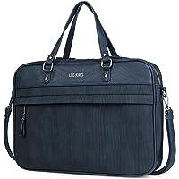 Lois - maletin portatil 15.6 Pulgadas. Cartera portadocumentos para Hombre. Cuero PU. Elegante. cómodo 305340