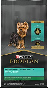 Purina Pro Plan High Calorie, High Protein Toy Breed Dry Puppy Food, Chicken & Rice Formula - 5 lb. Bag
