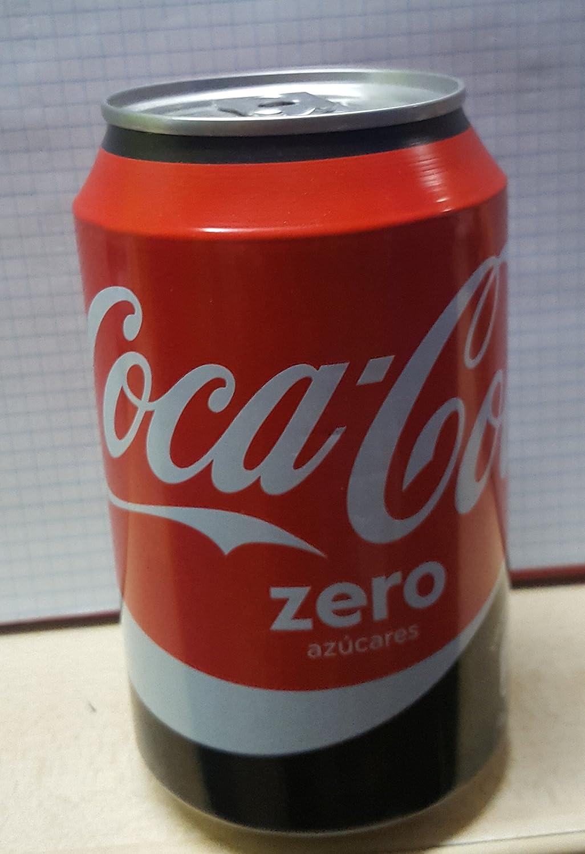 coca cola Caja Fuerte Bote Lata ocultacion Zero 330ml: Amazon.es ...
