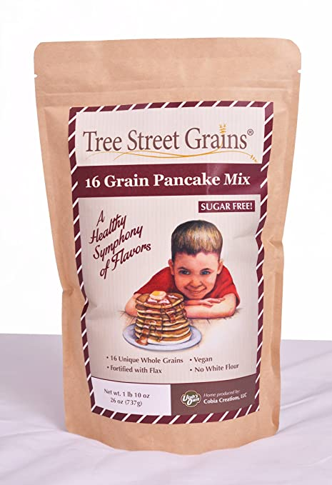 16 Ancient Whole Grain Pancake Mix, no sweetener, 26 oz, 4 pack