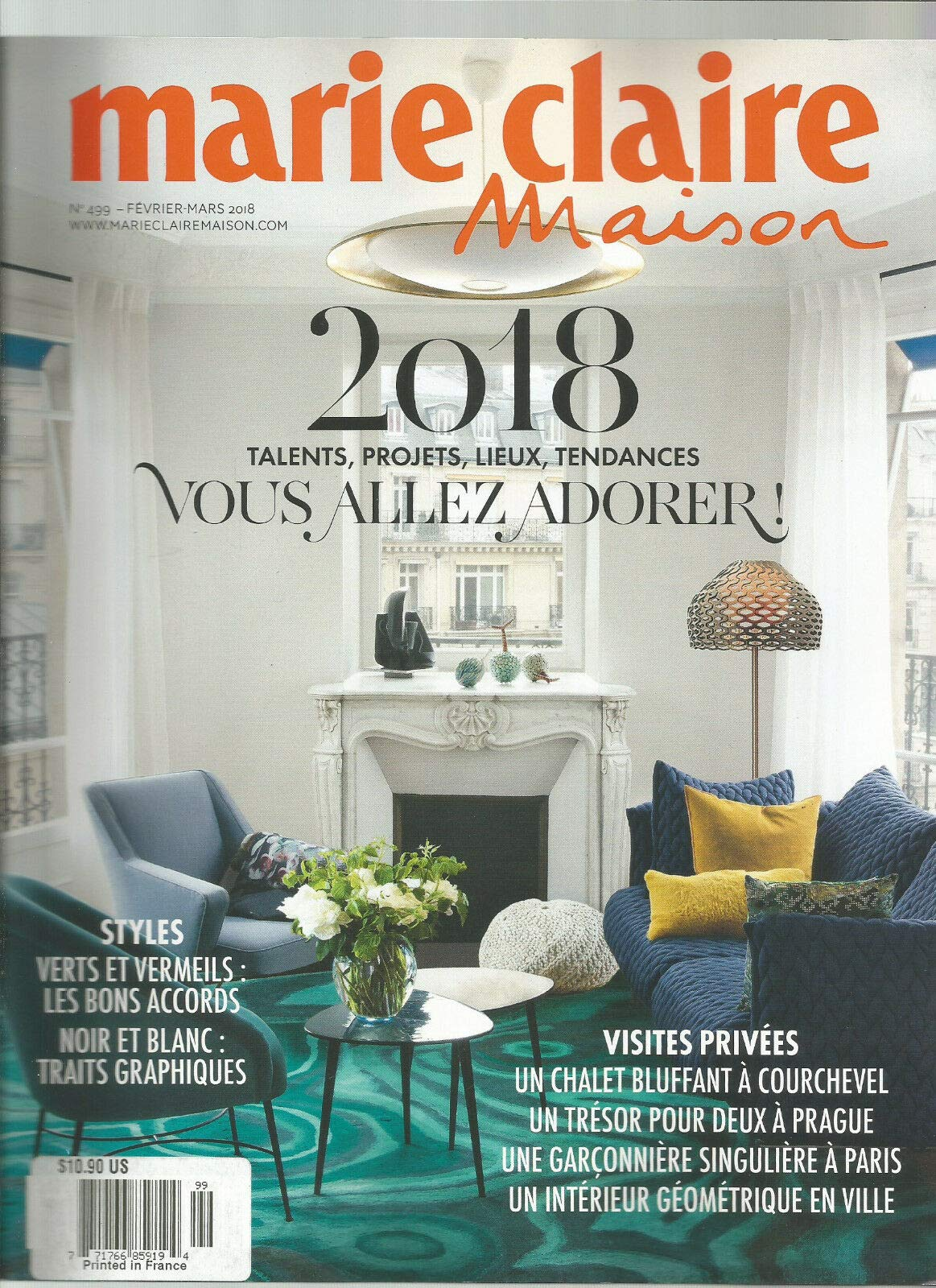 MARIE CLAIRE MAISON MAGAZINE FRANCE NO 8 FEBRUARY/MARCH 8