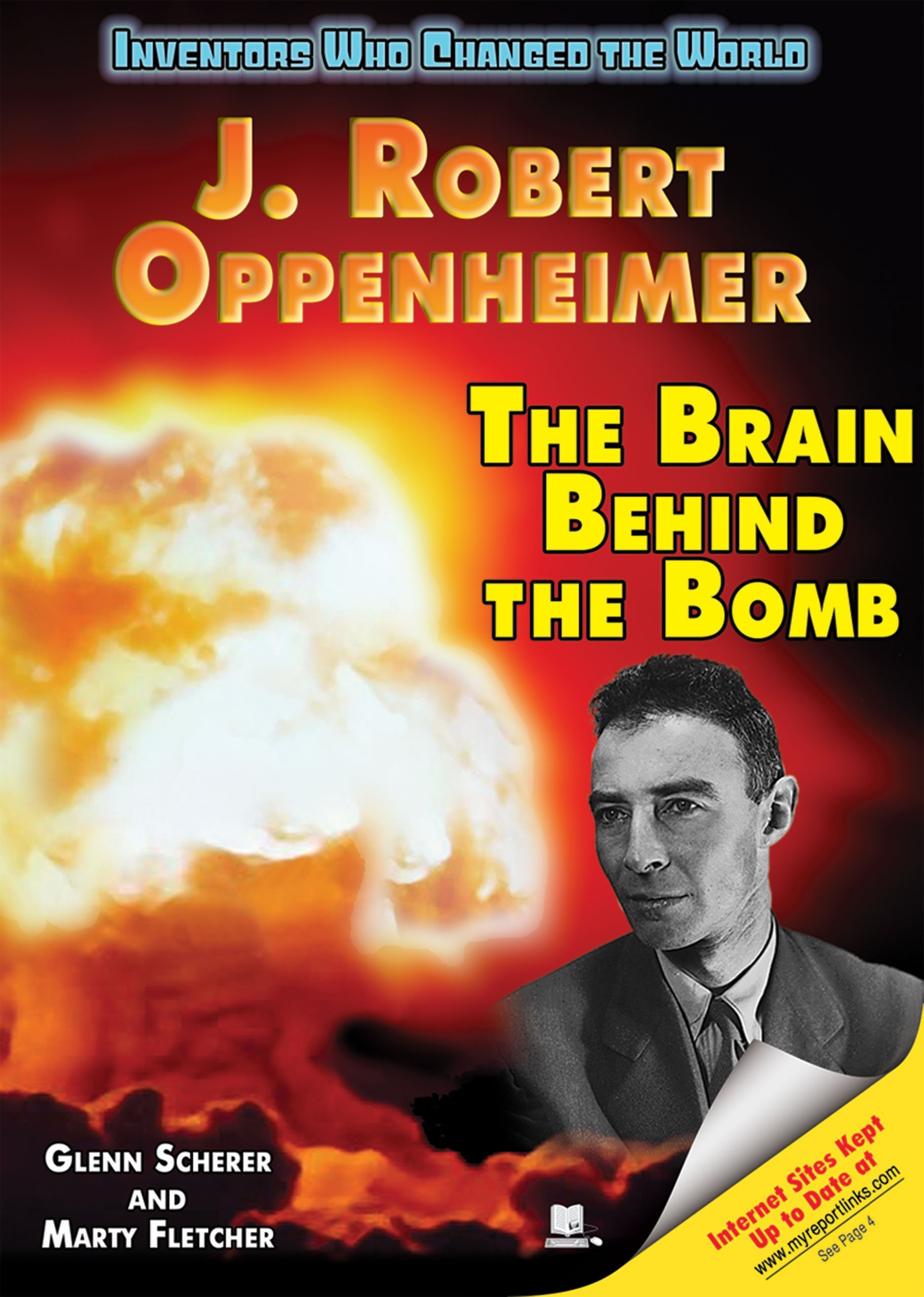 Read Online J. Robert Oppenheimer: The Brain Behind the Bomb (Inventors Who Changed the World) ebook