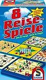Schmidt Spiele Reise-Spiele - 49102  - Jeu de société  - 8 Jeux de Voyage Magnétique