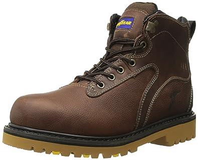 Goodyear Men's Darlington Soft Toe Work Boot, Brown, ...