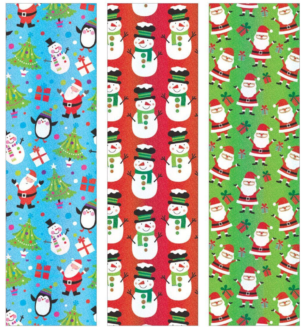 Amazon.com: Premium Christmas Gift Wrap Timeless Traditional Heavy ...