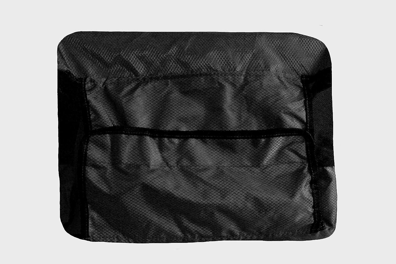Fundas para Maletas de Viaje,Cubierta de Equipaje de Viaje el/ástica Bolsa Protectora de Maletas M 24-26pulgadas Anti-rasgu/ños,Anti-Deslizante Lavable para Equipaje Color Negro