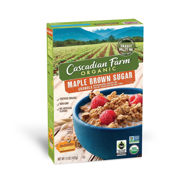 Amazon.com: Cascadian Farm Organic Granola, French Vanilla