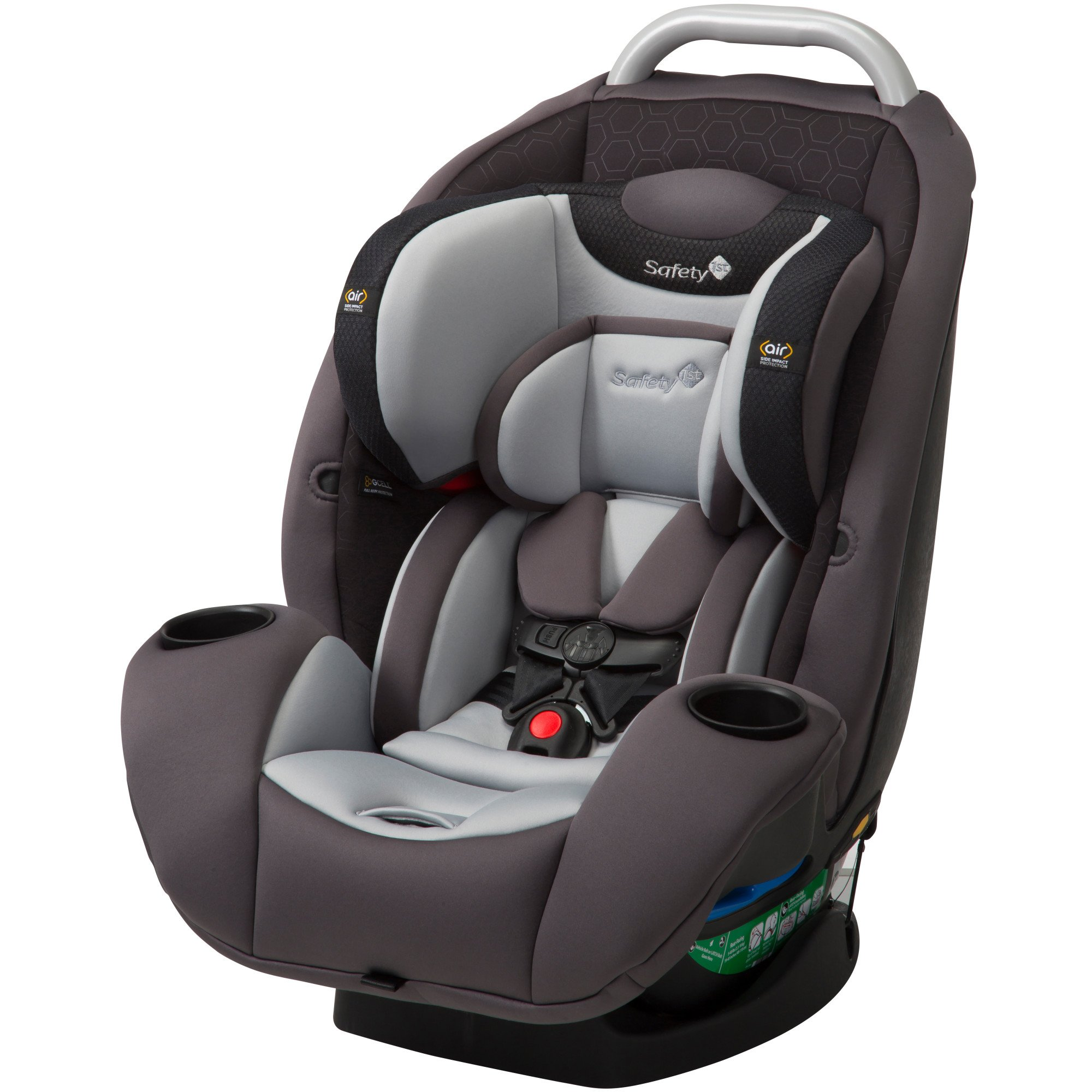 Safety 1st Ultramax Air 360 4-in-1 Convertible Car Seat, Raven HX