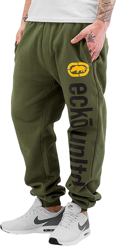 Marc Ecko 2Face - Pantalones de chándal para Hombre Verde L ...