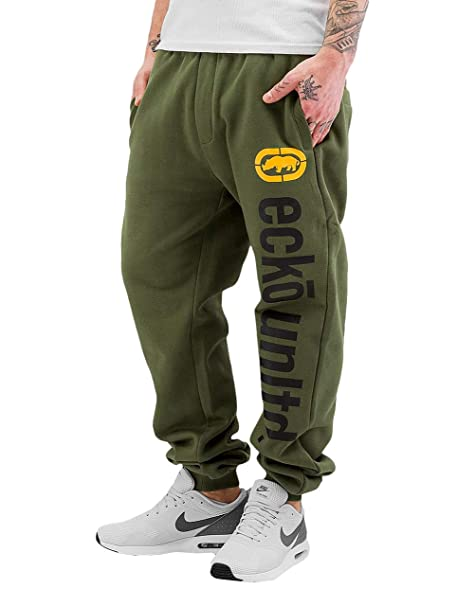 Ecko Unltd. 2Face - Pantalones de chándal para Hombre Verde XXXXL ...
