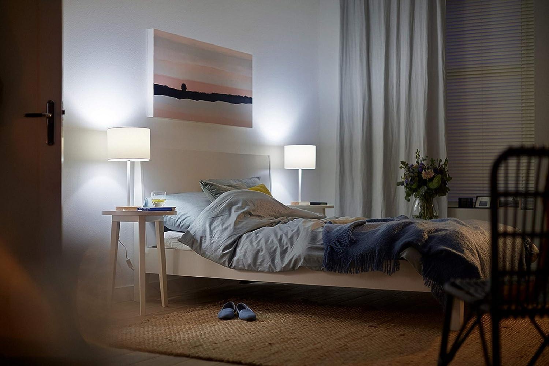 18W 230V luz blanca c/álida 2700K Philips MyLiving CAVANAL plaf/ón LED blanco cuadrado