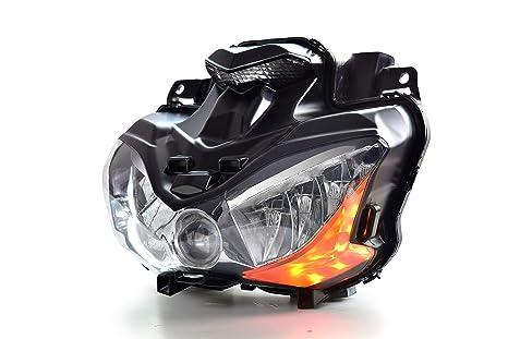Amazon.com: KT New Desgin Full LED Headlight Assembly for ...