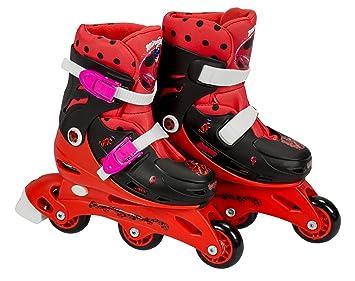Ladybug Saica 5833- Patines en línea de aprendizaje Tri-skate, 31-34