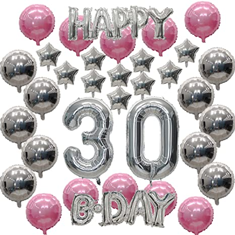 Amazon 30th Birthday Decorations Set