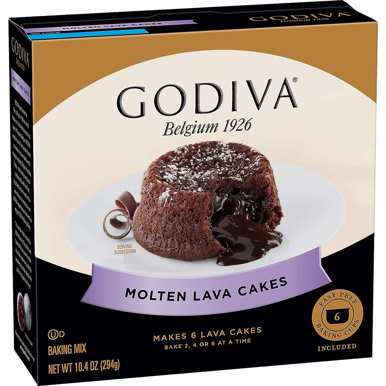 Godiva Molten Lava Cakes Baking Mix, 10.4 oz