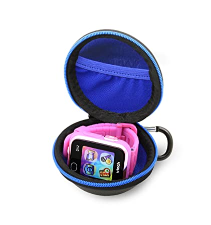 CASEMATIX Carry Case Fits Kidizoom Smartwatch DX2 W/ Watch Screen Cleaning Cloth - INCLUDES CASE ONLY