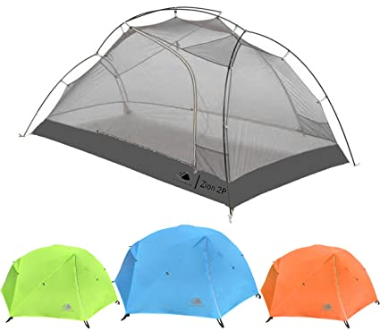 Hyke u0026 Byke Zion Two Person Backpacking Tent with Footprint - Lightweight Spacious Interior  sc 1 st  Amazon.com & Amazon.com : Hyke u0026 Byke Zion Two Person Backpacking Tent with ...