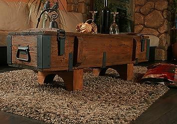 Cassapanca in legno di pino, stile antico e rustico, ideale per ...