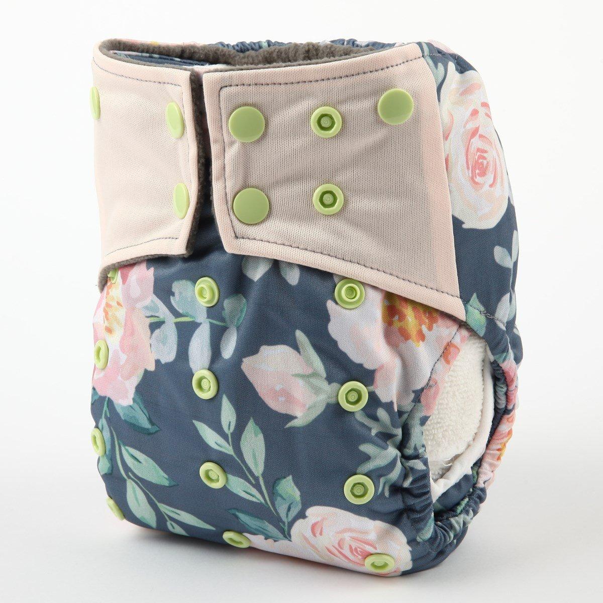 Baby Pocket Cloth Diaper Nappy Charcoal Bamboo Reusable Washable Owl Rabbit Hedgehog
