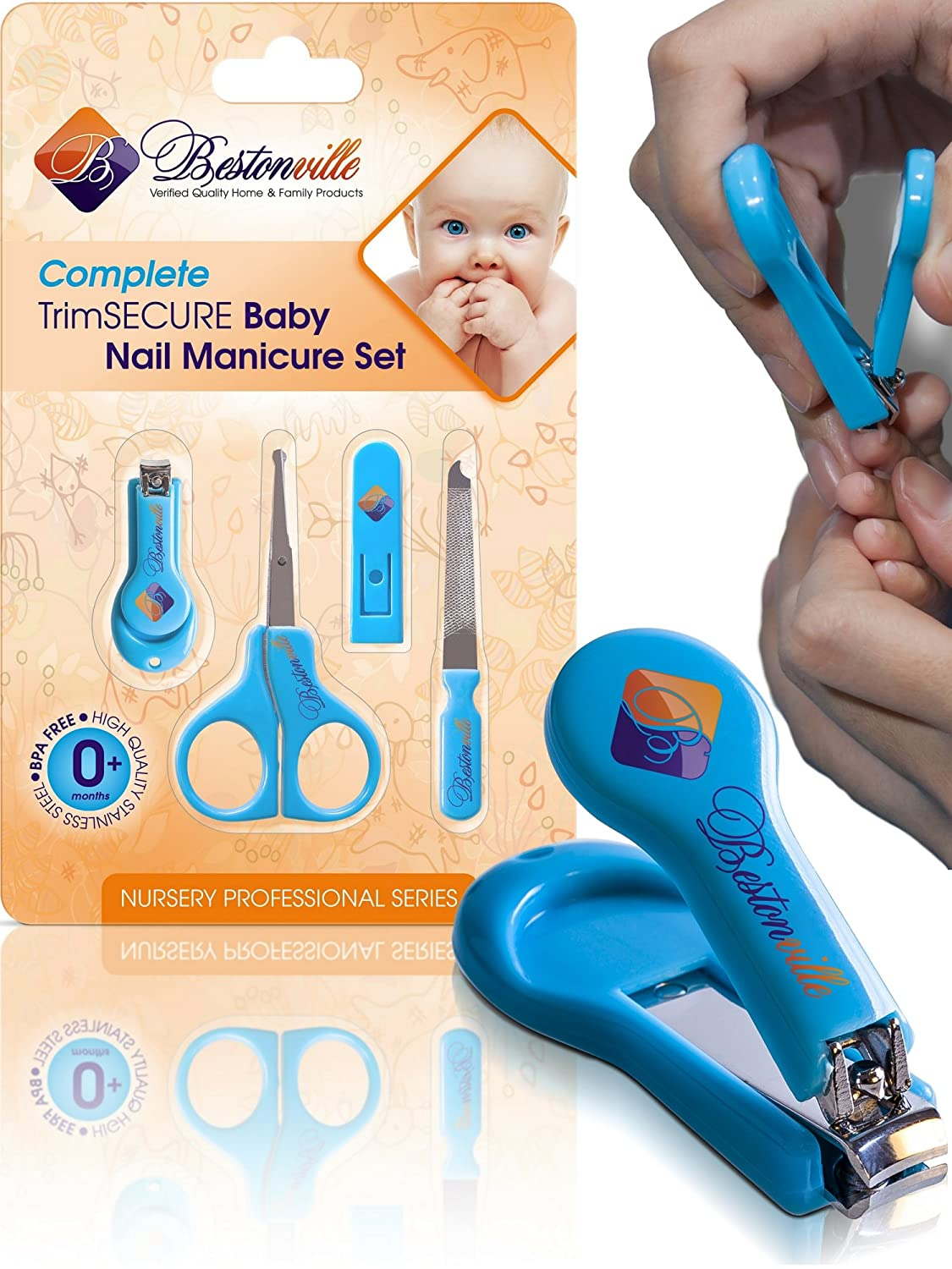 What scissors to cut the nails of a newborn: 5 safe models