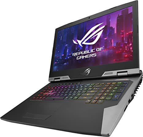 Amazon Com Asus Rog G703gx 2019 Gaming Laptop 17 3 Full Hd 144hz G Sync Overclocked Geforce Rtx 2080 Intel Core I9 9980hk 32gb Ddr4 1tb Ssd Raid 0 2x 512gb M 2 Windows 10 Pro G703gx Xb96k