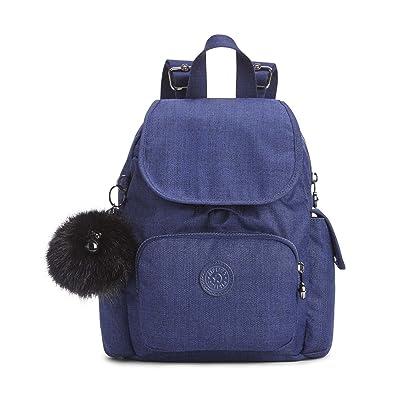 7ed533d16 Amazon.com: Kipling City Pack S Mini Backpack Cotton Indigo: Shoes