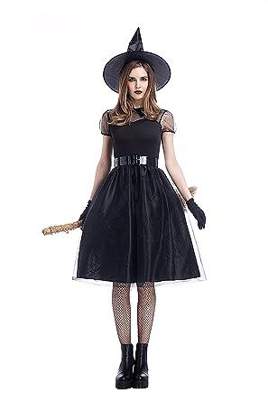 Amazon Dolovey Halloween Plus Size Classic Black Witch Costume