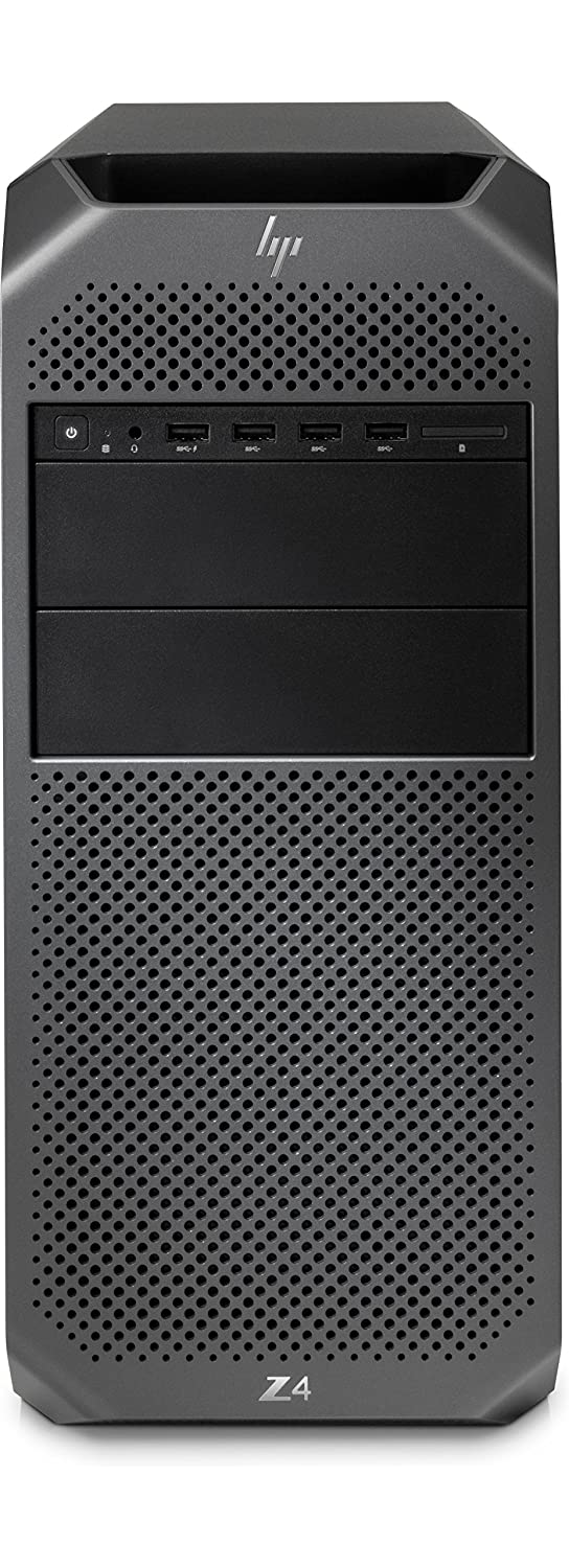 HP Z4 G4 3.6GHz Escritorio Negro Puesto de Trabajo - Ordenador de sobremesa (3,60 GHz, Intel® Xeon®, W-2133, 16 GB, 512 GB, Windows 10 Pro for Workstations)