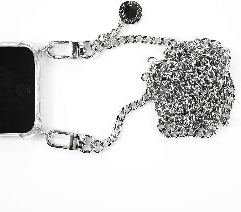 Jalouza Handykette UrbanXBody kompatibel mit Apple iPhone X//XS Smartphone Halter mit Halsband Handytasche zum Umh/ängen mit Kartenhalter Fingerhalter und Schl/üssel-Anh/änger