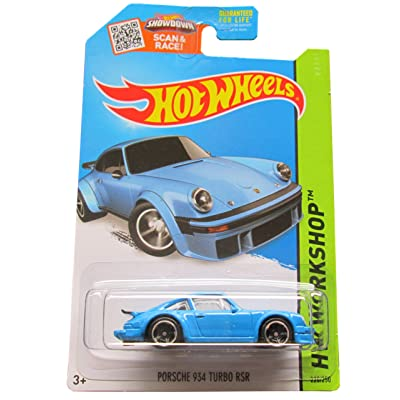 Hot Wheels 2015 HW Workshop Porsche 934 Turbo RSR 220/250, Light Blue: Toys & Games [5Bkhe1802858]