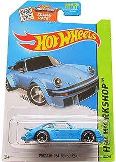 Hot Wheels 2015 HW Workshop Porsche 934 Turbo RSR 220/250, Light Blue