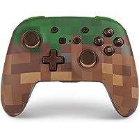 PowerA Enhanced Wireless Minecraft Grass Block Nintendo Switch Controller