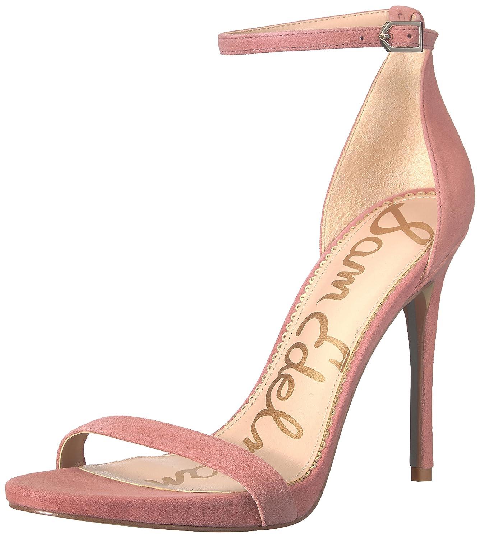Light Misty pink Suede Sam Edelman Womens Ariella Heeled Sandal