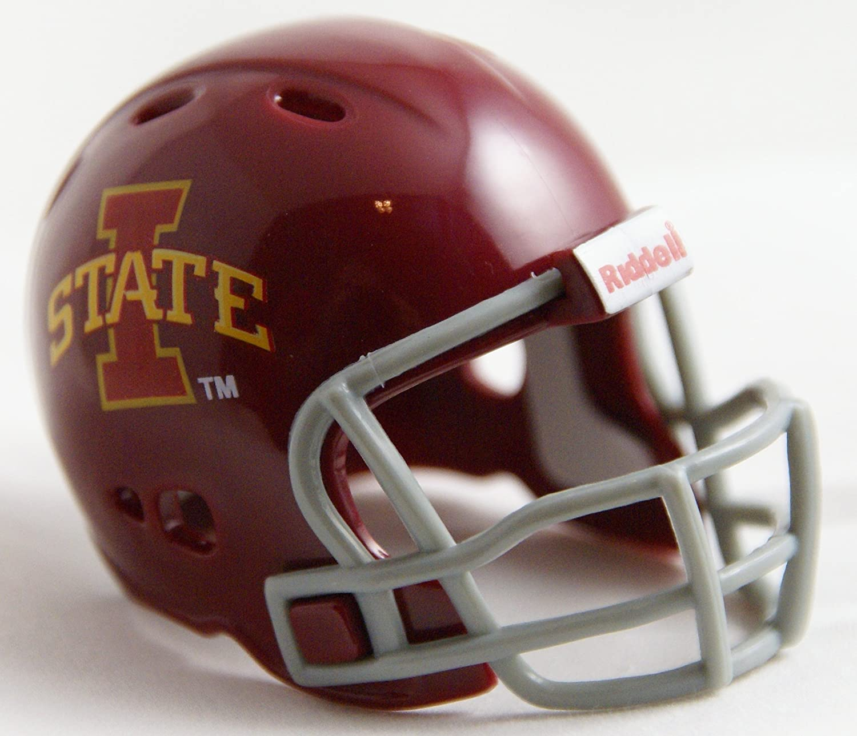 IOWA STATE CYCLONES NCAA Riddell Revolution POCKET PRO Mini Football Helmet by Unknown