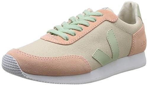 Veja Arcade - Zapatillas de Deporte de Canvas para Mujer Ivoire (Sable Bellini Anis) 41: Amazon.es: Zapatos y complementos