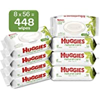 Deals on HUGGIES Natural Care Unscented Baby Wipes 448 Count