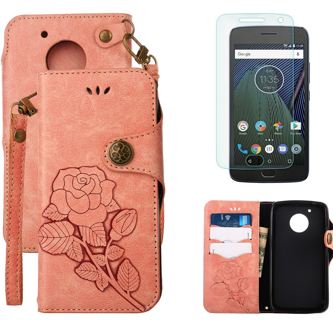 Rose-pink