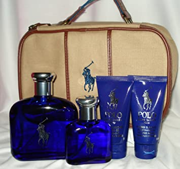Amazon.com: Ralph Lauren Polo azul Set de regalo ($140 Valor ...