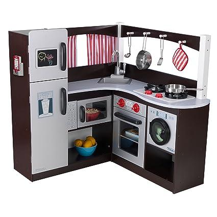 Delicieux KidKraft Grand Espresso Corner Kitchen Playset