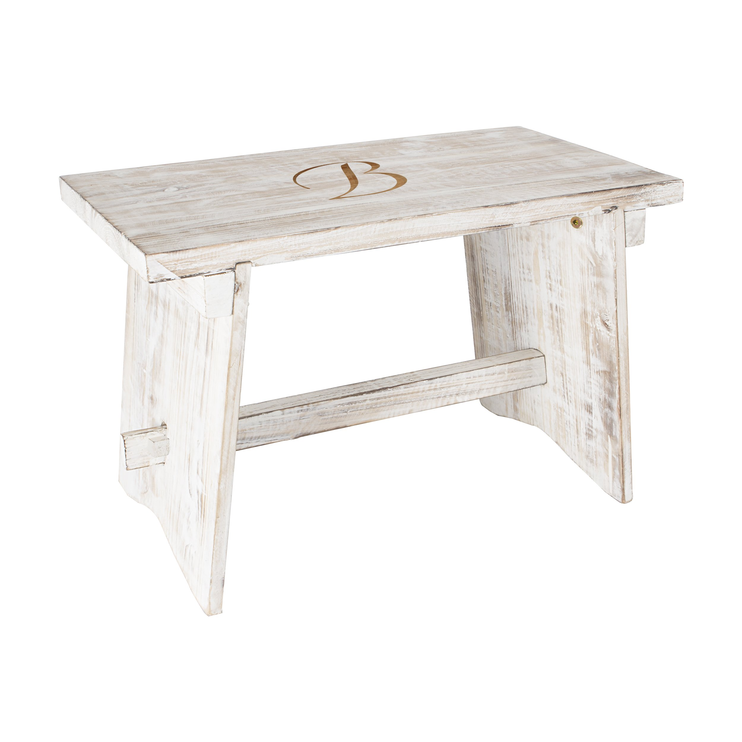 Personalized Wooden Guestbook Bench by Cathy's Concepts
